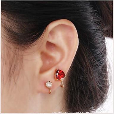 Buy European Diamond Love Alloy Ear Cuffs(1Pc)