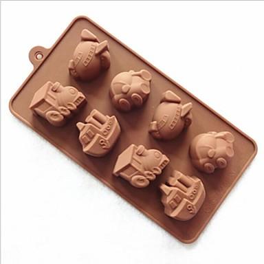 Mode siliconen chocolade decoratie mal zeep ijs snoep for Decoratie chocolade
