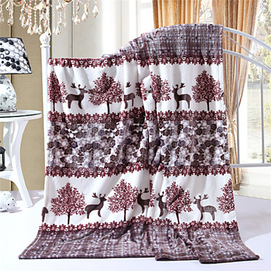 100% Fleece Blanket Throws 200x230cm