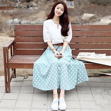 Galerry korean casual maxi dress