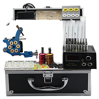 Buy Tattoo Machine Kits 4 Steel Machines Cast Iron