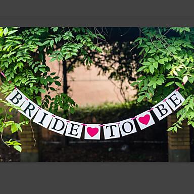 ブライダルシャワー パール紙 / コートボール紙 結婚式の装飾 ガーデンテーマ / クラシックテーマ 春 / 夏 / 秋  #03167740