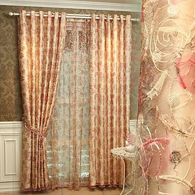 Yimi ou broderi gardin færdigt produkt værelse luksus soveværelse ...
