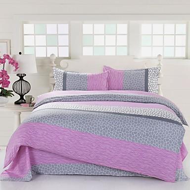 Funda n rdica mingjie rosa textura ropa de cama conjuntos - Ropa de cama matrimonio ...