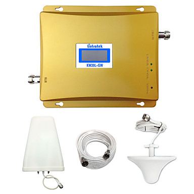 Buy Lintratek GSM 3G Repeater 900MHz 2100MHz WCDMA Amplifier Cell Signal Booster Dual Band Repetidor 2G Full Kit