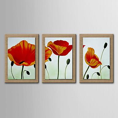 Decoraci n de la pintura al leo abstracta pintada a mano for Pintura color lino
