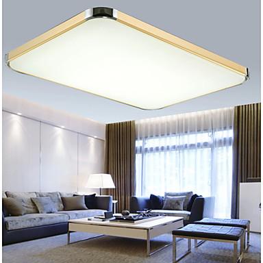 Led 64w moderne / nutidig led børstet metall takplafond stue ...