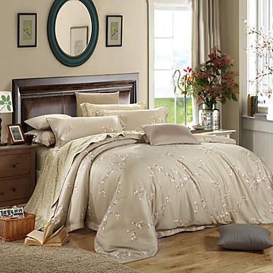 Yuxin Upscale 60s Tencel Four Pieces Very Cool Silk Bedding Reactive