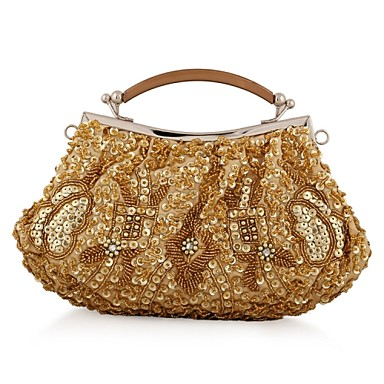 Buy L.WEST® Women's Event/Party / Wedding Evening Bag Beaded Sequined Delicate Handbag
