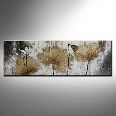 peinture l 39 huile florale botanique mur de toile art floral peints la main un panneau pr t. Black Bedroom Furniture Sets. Home Design Ideas