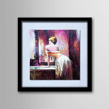 Pitture a olio un pannello moderne figure astratte tele for Tele dipinte a mano moderne