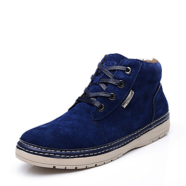 Zapatos de hombre botas oficina y trabajo casual ante - Zapatos de trabajo ...