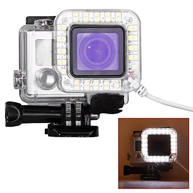 etui de protection spot led led pour gopro 5 gopro 4 silver gopro 4 gopro 4 black gopro 3 gopro. Black Bedroom Furniture Sets. Home Design Ideas