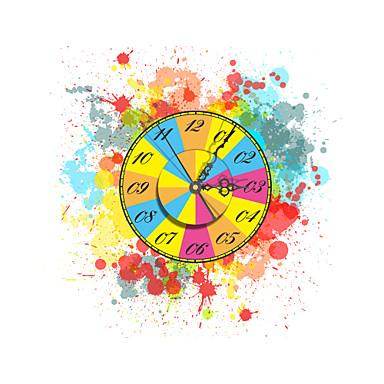 effet 3d pag modern roue color e horloge murale pouces 40 de 3813295. Black Bedroom Furniture Sets. Home Design Ideas