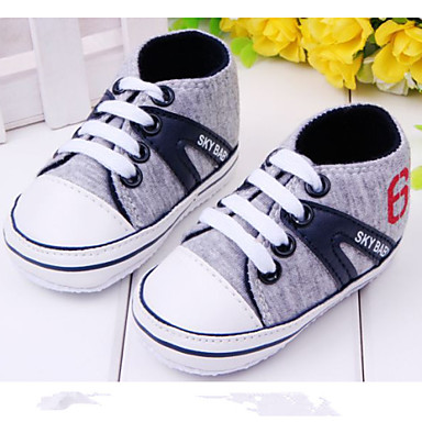 Baby Shoes Casual Fabric Athletic Shoes Blue Red