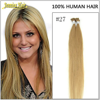 Virgin Indian I Tip Hair Extensions 32