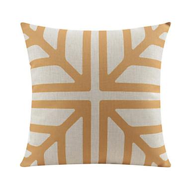 Yellow Geometric Pattern Cotton/Linen Decorative Pillow Cover 4077997 2017 ? USD13.99