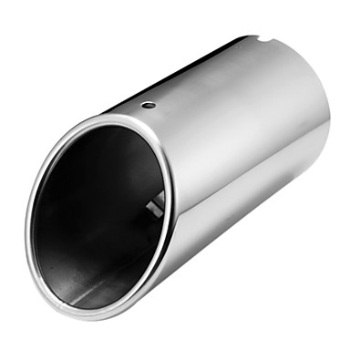 Buy Chrome Muffler Exhaust Tail Pipe Tip FOR Audi A4 B8 1.8T 2.0T 2009-2015