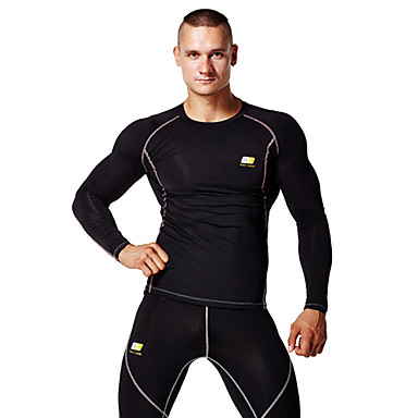 Men's Running Clothing Sets/Suits Tops Wearable Lightweight Materials Soft Sweat-wicking Compression Sports WearYoga Pilates Exercise &