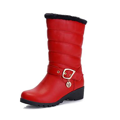 Zapatos de mujer tac n cu a cu as botas de nieve - Botas de trabajo ...