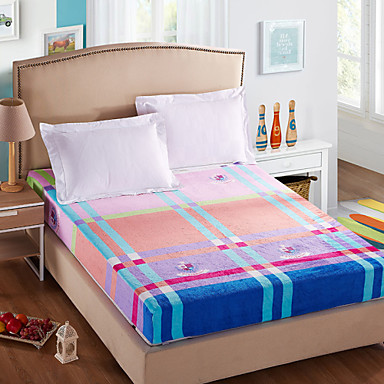 Yuxin the nieuwe dikke flanellen bed bedrijven verbeterde versie van koraal fluwelen sprei warm - Hoofd fluwelen bed ...