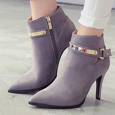 Zapatos de mujer tac n stiletto tacones botines - Botas de trabajo ...