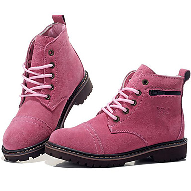 chaussures femme ext rieure d contract sport marron rouge talon plat bottes de. Black Bedroom Furniture Sets. Home Design Ideas
