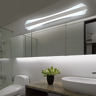 Contemporary Bath Wall Sconces : LED Wall Sconces / Bathroom Lighting , Modern/Contemporary LED Integrated PVC 4581432 2016 $72.79