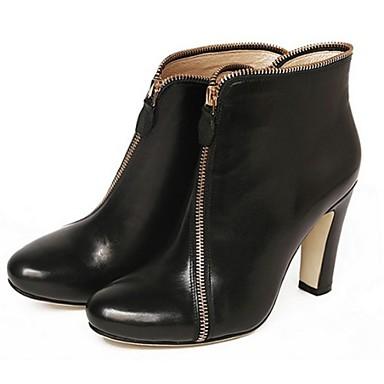 Zapatos de mujer tac n robusto botas a la moda botas - Zapatos de trabajo ...