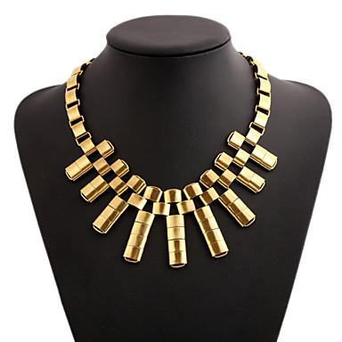 Women's Necklace Fashion Vintage Alloy Gold Necklace ...
