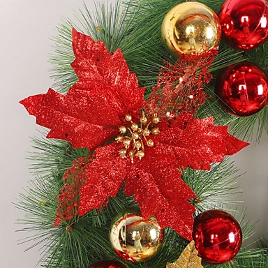 Pl stico rbol de navidad flores artificiales 4583501 2016 - Arboles de navidad artificiales ...