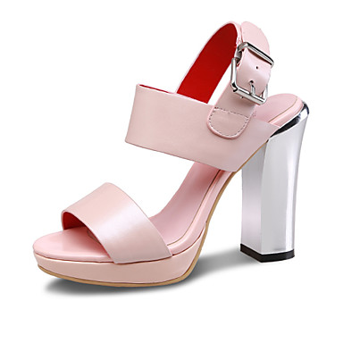 s shoes leather chunky heel slingback sandals office