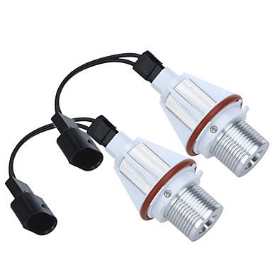 Buy 2*7W White CREE LED Angel Eye Halo Bulb Light BMW E39 E53 E60 E63 E64 E65 E66 E83 E87 Error Free