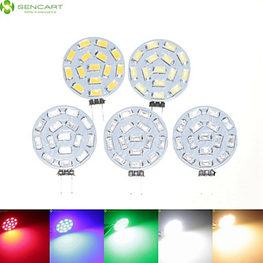 Buy 5 x G4 GU4 GZ4 7.5W 15x5630SMD Warm White Cool Natural Green Red Blue 900LM Led Light Bulbs AC DC 9-36V
