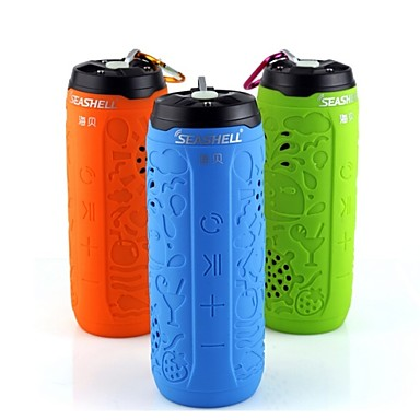 Buy SEASHELL Bluetooth Audio Portable Speaker Cycling/Bike / Mountain Bike Contain 8G Memory Card