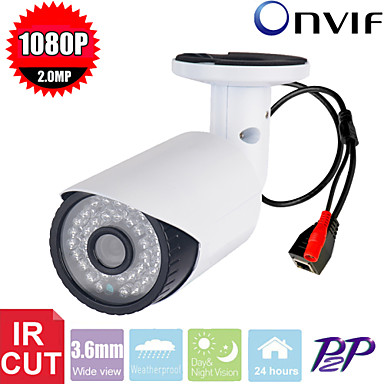 Buy Cctv SONY CMS 2.0Megapixel 1080p 3Leds Ir-cut Indoor Bullet Ip Security Camera P2p Network
