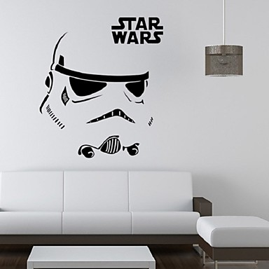 stormtrooper darth vader starwars star wars vinyl wall stickers wall decals home decor wall art. Black Bedroom Furniture Sets. Home Design Ideas