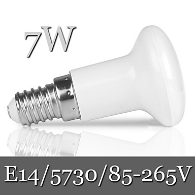 Buy Ding Yao E14 7W 21LED SMD 5730 600LM Warm White / Cool R50 Dimmable Decorative Globe Bulbs AC 85-265V