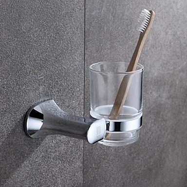 Porta spazzolini Cromo A muro 9.1*10.9cm(3.6*4.3 inch) Ottone / Vetro Moderno del 1943082 2016 a ...