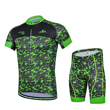 Buy CHEJI Summer Men's Short Sleeve Bicycle Cycling Jersey 3D Padd Pant