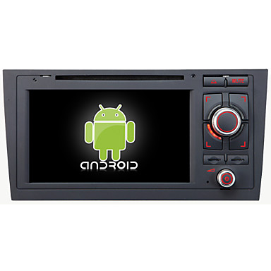 Buy Android 4.4.4 Car DVD Player GPS AUDI A6 Quad-Core Contex A9 1.6GHz,Radio,RDS,BT,SWC,Wifi,3G