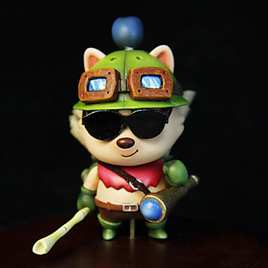 Buy League Legends Teemo 8CM Anime Action Figures Model Toys Doll Toy