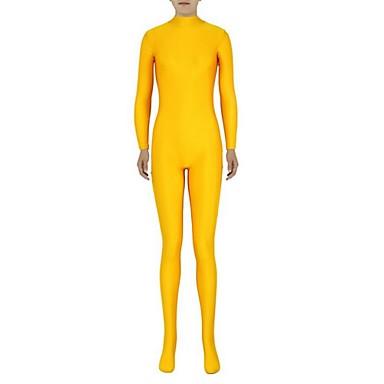 Buy Unisex Zentai Suits Lycra / Spandex Yellow