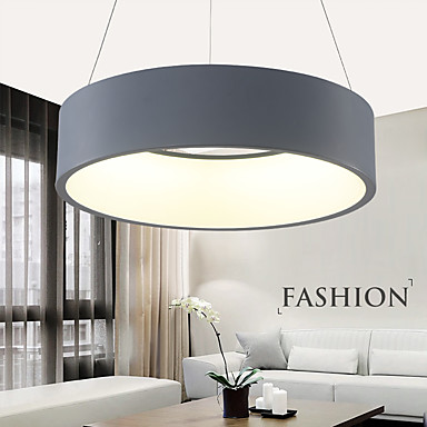 Modern fashion led pendant lights metal living room for Dining room lighting uk