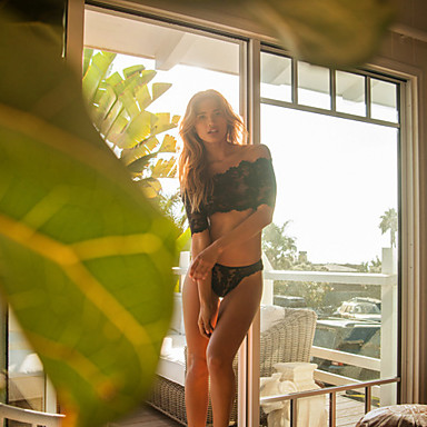 Buy Woman's Perspective Lace Sexy Bikini Split Pajamas