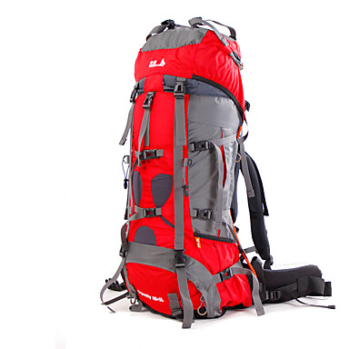 Buy 85 L Backpack Camping & Hiking / Climbing Leisure Sports Traveling OutdoorWaterproof Quick Dry Rain-Proof
