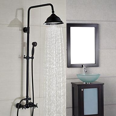 Shower Faucet Contemporary Waterfall Rain Shower
