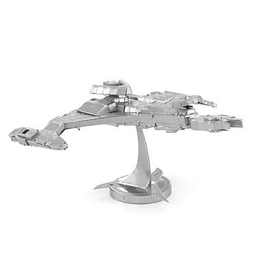 Buy Jigsaw Puzzles 3D / Metal Building Blocks DIY Toys Silver Model & Toy