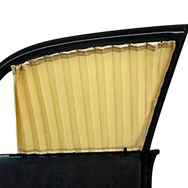 2 pcs beige fen tre de voiture rideau pare soleil armure for Protection soleil fenetre