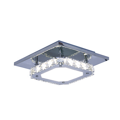 modern contemporary crystal led white light stainless
